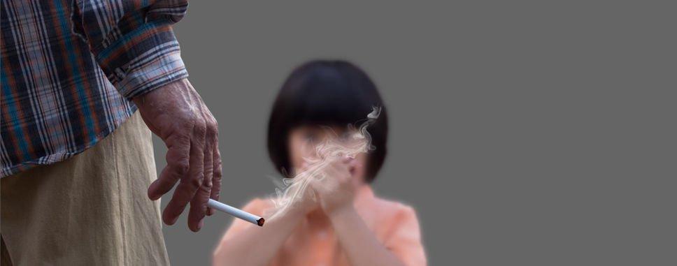 курение рядом с ребенком