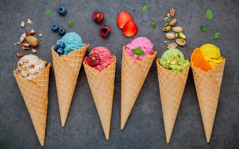Мороженое при грудном вскармливании: какое можно?